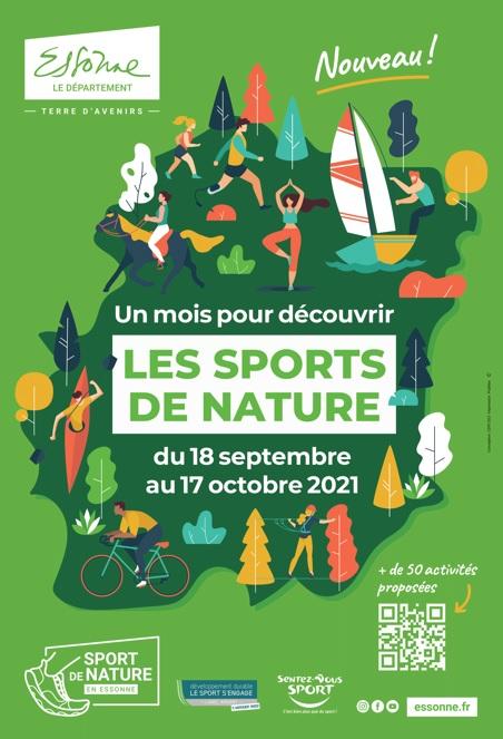 Le mois des sports de nature en Essonne